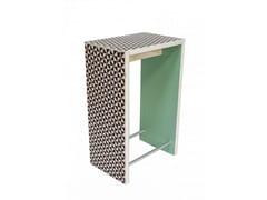 Tavolo alto rettangolare in legno NORDICO VERACE | Tavolo alto - Not Common Things