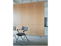 Parete mobile insonorizzata in legno per ufficioHRX - KÖNIG +  NEURATH