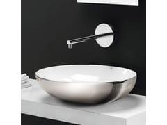 Lavabo da appoggio in ceramica designTHIN OVALE - A. E T. ITALIA