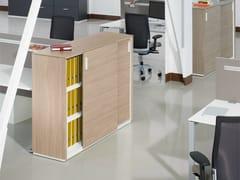 Mobile ufficio in legno con ante scorrevoli ACTA PLUS - Acta Plus