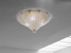 Lampada da soffitto in vetro soffiato FUOCHI PL 55 - Fuochi