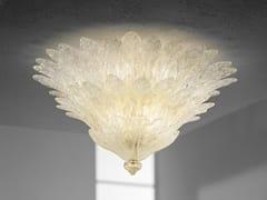 Lampada da soffitto in vetro soffiato FUOCHI PL 46F - Fuochi
