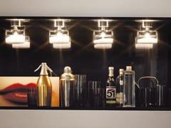 Lampada da soffitto a luce diretta alogena in vetro MAGIE FA | Lampada da soffitto - Magie