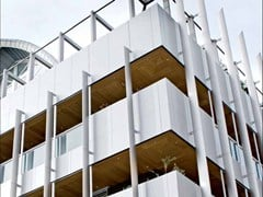 Pannello in legno per facciate / Pannelli per controsoffittoWOOD SHADE OUTDOOR - AKIFIX