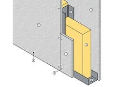 Divisorio interno tagliafuoco MGO FIRE PLUS® W75/101 - EI120 - MGO FIRE