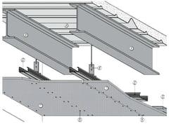 ITP, MGO FIRE PLUS® S13/27 - REI30 Controsoffitto tagliafuoco per solai in lamiera grecata