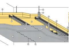 Controsoffitto tagliafuoco a membrana MGO FIRE PLUS® S26/130/80 - EI120 - MGO FIRE