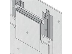 Botola di ispezione antincendio per pareti AKIFIRE WALL 180 - EI180 - MGO FIRE