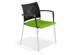 Sedia da conferenza con braccioli FENIKS XL | Sedia con braccioli - Feniks XL