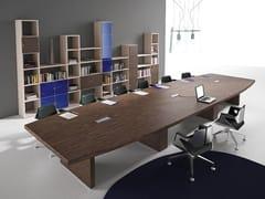Tavolo da riunione in legnoTITANO | Tavolo da riunione in legno - CASTELLANI.IT