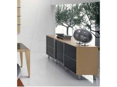 Mobile ufficio basso con ante scorrevoliERACLE | Mobile ufficio basso - CASTELLANI.IT