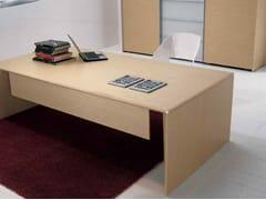 Scrivania rettangolare in legnoERACLE | Scrivania rettangolare - CASTELLANI.IT