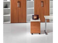 Cassettiera ufficio in legno con ruoteMEDLEY | Cassettiera ufficio - CASTELLANI.IT