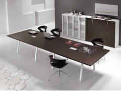 Tavolo da riunione rettangolare in legnoATREO | Tavolo da riunione - CASTELLANI.IT