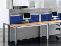 Postazione di lavoro multipla in legnoZEFIRO SYS | Postazione di lavoro multipla - CASTELLANI.IT