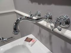 Rubinetto per lavabo a 3 fori a muroRL1011 | Rubinetto per lavabo a muro - BLEU PROVENCE