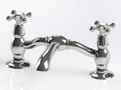 Rubinetto per lavabo a 2 fori da piano in ottoneRL1013 | Rubinetto per lavabo - BLEU PROVENCE