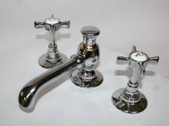 Rubinetto per lavabo a 3 fori in ottoneRL1031 | Rubinetto per lavabo - BLEU PROVENCE