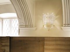 Lampada da parete in vetro ROMANZA AP 3F - Romanza