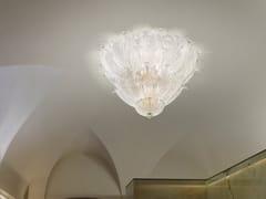 Lampada da soffitto in vetro ROMANZA PL 10F - Romanza