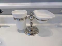 Portasapone / portaspazzolino in ceramicaCLASSIC | Portasapone - BLEU PROVENCE
