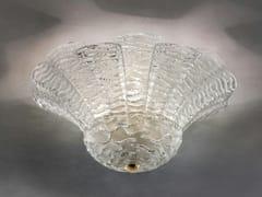 Lampada da soffitto in vetro SAN GIORGIO PL 16FP - San Giorgio