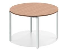 Tavolo da riunione rotondo in legno LACROSSE V | Tavolo rotondo - Lacrosse V
