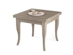Tavolo allungabile quadrato in legno Tavolo quadrato -