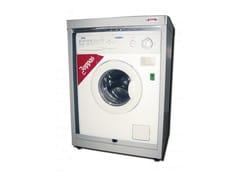 Mobile lavanderia in lamiera con ante a serrandina per lavatriceMobile lavanderia con ante a serrandina - CASTELLANI.IT