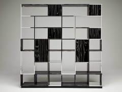 Libreria in alluminio e legno SUDOKU NEROBIANCO - Sudoku