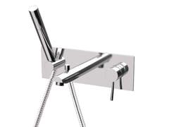Miscelatore per vasca a muro con piastra MINIMAL | Miscelatore per vasca con piastra - Minimal