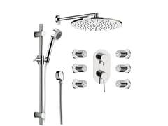 Miscelatore per doccia con soffione MINIMAL | Miscelatore per doccia - Minimal