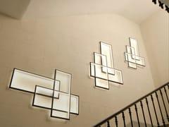 Lampada da parete a LED a luce indiretta in acciaioTRIO LT - CINIER RADIATEURS CONTEMPORAINS