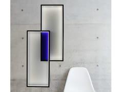 Lampada da parete a LED a luce indirettaDUO LT - CINIER RADIATEURS CONTEMPORAINS