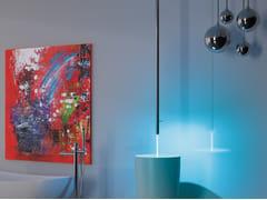 Miscelatore per lavabo da soffitto monocomando in ottone cromato MINIMAL COLOR | Miscelatore per lavabo da soffitto - Minimal Color