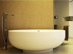 DIMASI BATHROOM, GOLD TUB Vasca da bagno rotonda