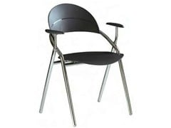 Sedia in polipropilene con braccioliLUNA | Sedia con braccioli - CASTELLANI.IT