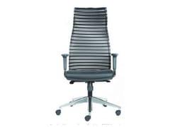 Sedia ufficio ad altezza regolabile con ruotePRESTIGE - CASTELLANI.IT