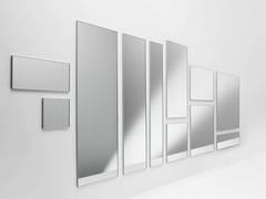 Casamania & Horm, UTE MINIMAL Specchio da parete o da terra con cornice in alluminio