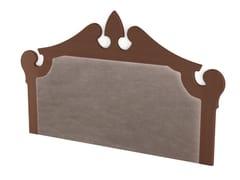 Testiera imbottita in legno ROYAL | Testiera imbottita -