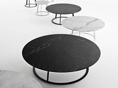 Tavolino rotondo in marmo ALBINO FAMILY | Tavolino in marmo - Albino Family