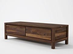Mobile TV basso in legno SOLID | Mobile TV in legno - KARPENTER