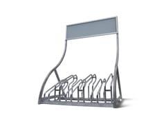 Portabici in metalloPortabici con personalizzazione - STUDIO T
