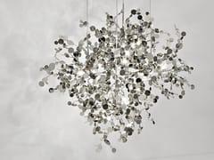 Lampada a sospensione alogena in metallo ARGENT | Lampada a sospensione - Argent