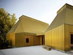 KME Architectural Solutions, TECU® Brass Ottone, lega di rame e zinco per rivestimenti