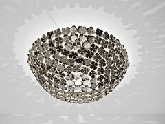 Lampada da soffitto alogena in metallo ORTEN'ZIA | Lampada da soffitto - Orten'zia
