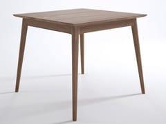 Tavolo da salotto quadrato in legno VINTAGE | Tavolo quadrato - Vintage