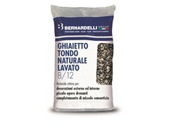 Bernardelli Group, GHIAIETTO TONDO NATURALE LAVATO 8/12 Ghiaietto tondo naturale