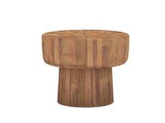 Tavolino rotondo in teak TEAK POP | Tavolino rotondo - Teak Pop