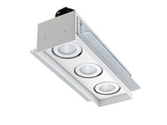 Faretto a LED multiplo da incasso Quad Maxi 2.3 - L&L LUCE&LIGHT